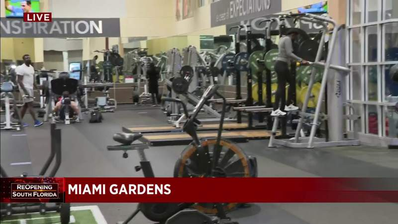 Some gyms no longer require the use of masks to exercise