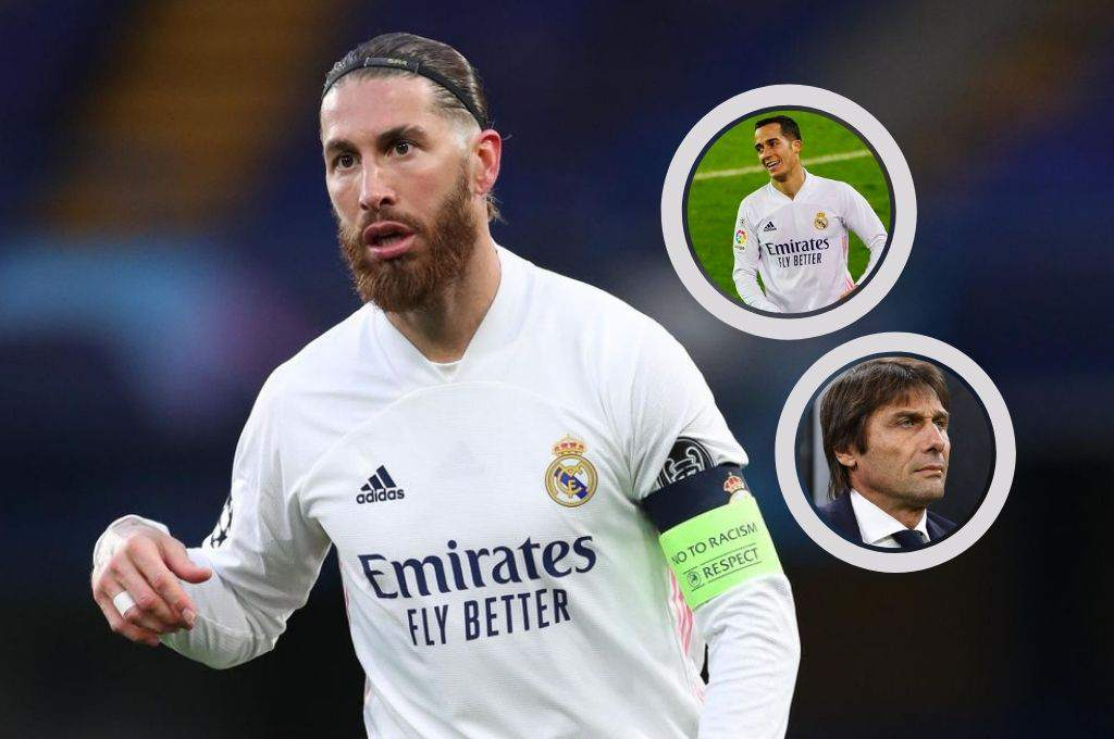 Surprise: Sergio Ramos will not renew with Real Madrid;  Lucas Vásquez yes and disqualified Conte - ten