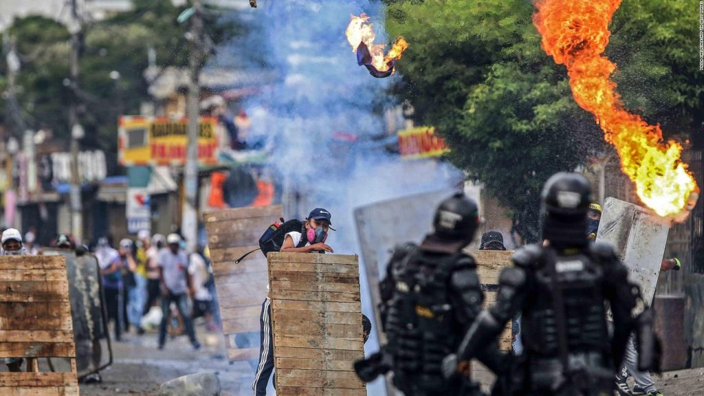 The Ombudsman's Office reported 19 deaths in protests in Colombia