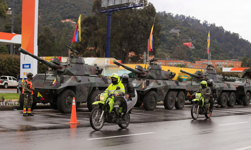 The situation in Colombia today: minute by minute