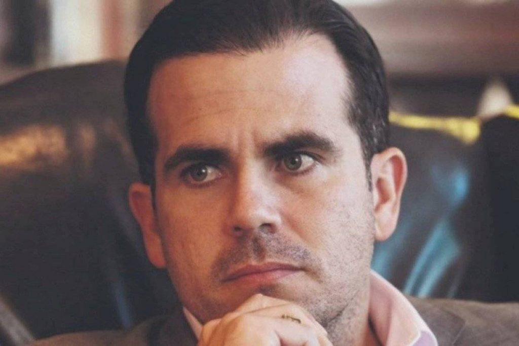 They denounced Rossello's use of a false address to vote in a special election