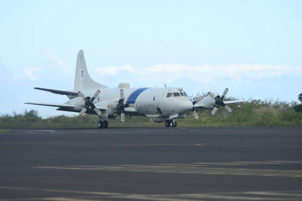 US Orion B3 hits first flight from Galapagos to detect drug trafficking and illegal fishing activities |  Ecuador |  News