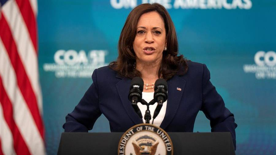 Vice President Kamala Harris says US is still evaluating options to respond to El Salvador impersonation