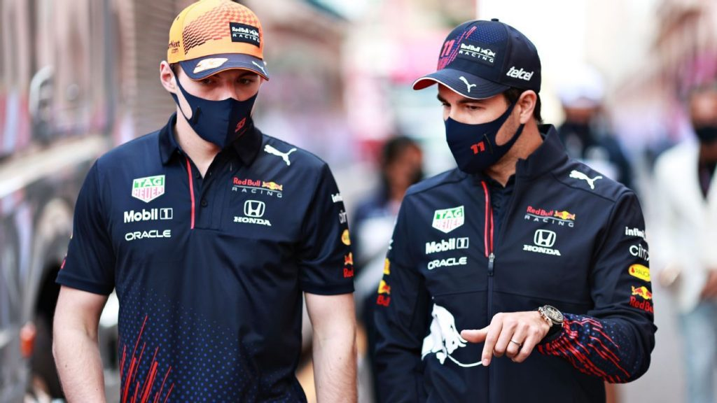 With Checo Pérez and Verstappen, Red Bull leads the championship