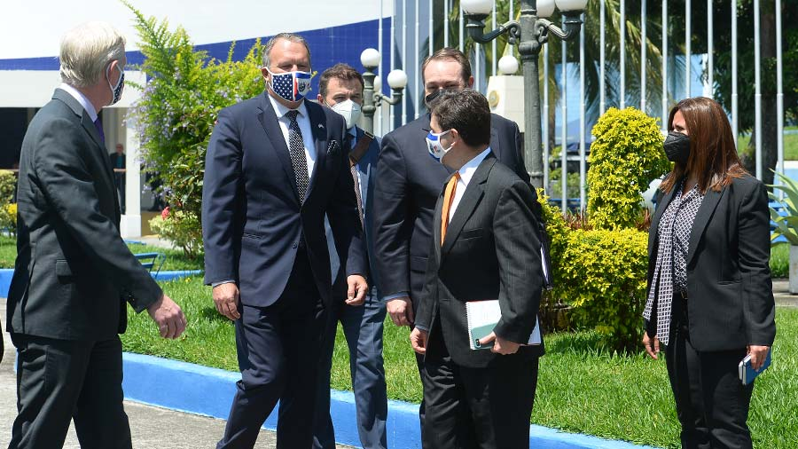 Within two weeks of the coup, Ricardo met with Nicaea Bukel