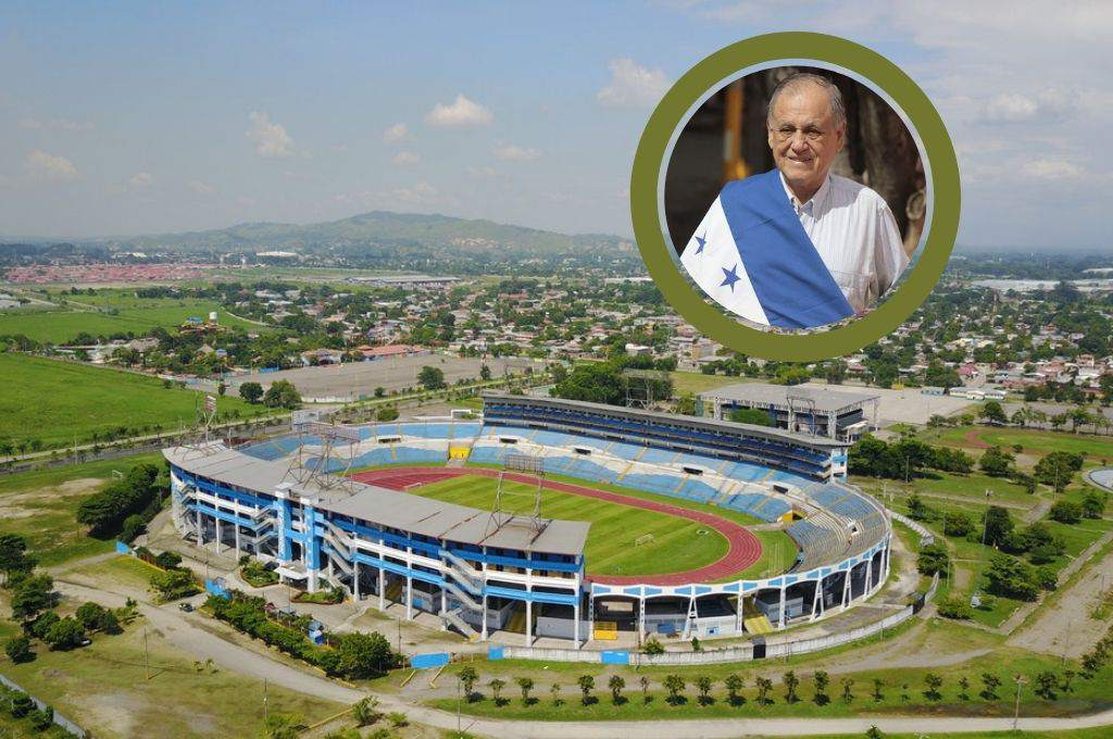 Worthy tribute: The San Pedro Sula sports complex will now be called Chelato Uclés - Diez