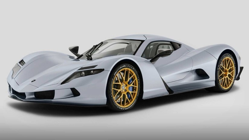 """Pictures: Appear for the first time in the world """"Hyper Car"""" The fastest Japanese speed in the world"""