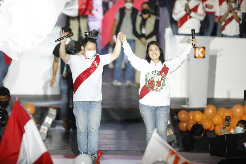 Kenji Fujimori said he is confident that the Fuerza Popular leader will be