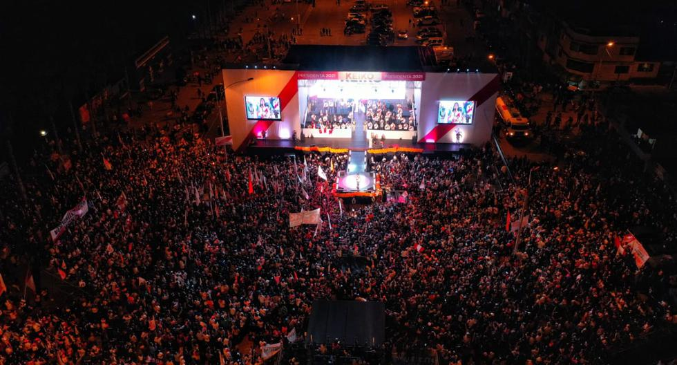 Keiko Fujimori concludes the People's Power Campaign 2021 elections second round photos nndc    Policy
