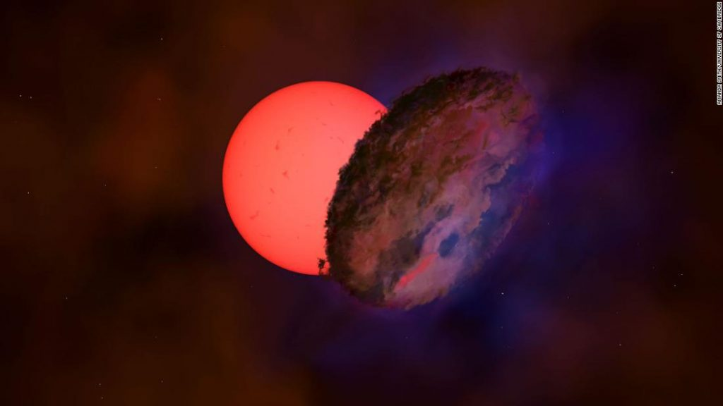 """They discover a giant star """"blinking"""" in the Milky Way"""