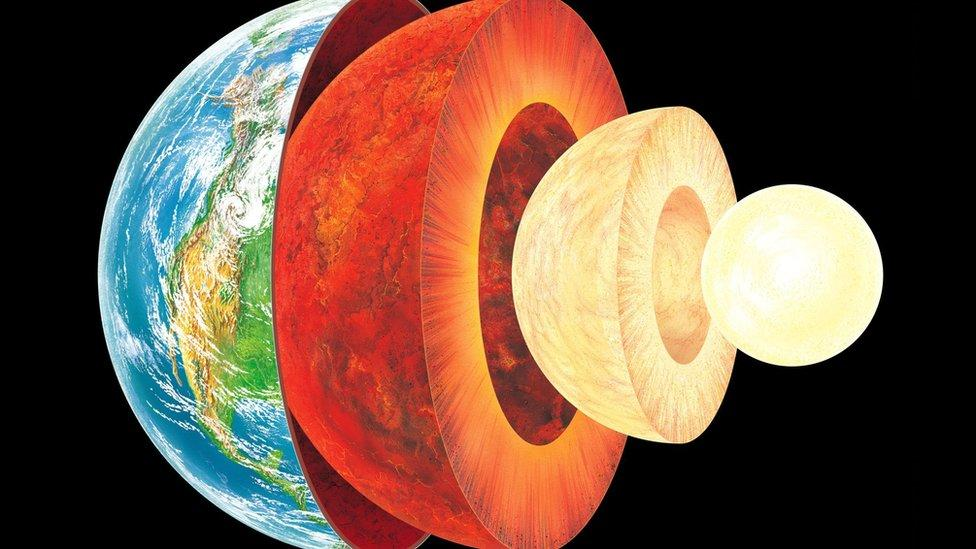 The strange behavior of the Earth's core that scientists cannot explain