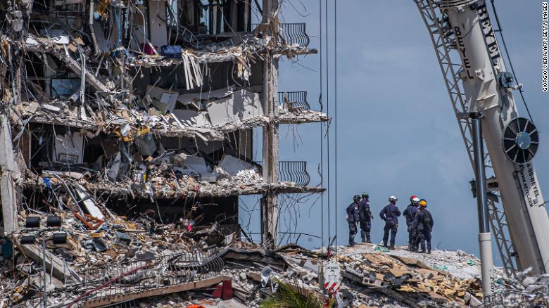 As of Monday, we were aware of the Miami building collapse investigation