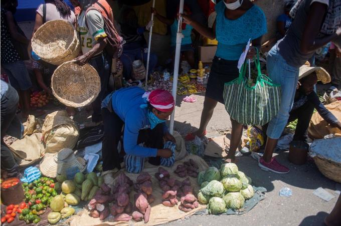 El 46 % de los haitianos está en situación de inseguridad alimentaria