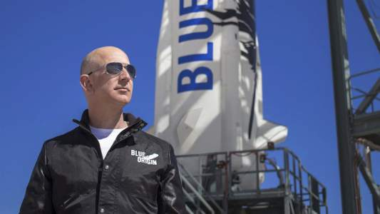 A petition has been signed so that Jeff Bezos does not return to Earth after his journey into space