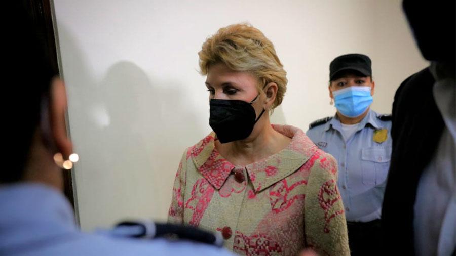 Ana Legia de Saka was sentenced to 10 years in prison for money laundering