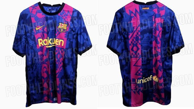 """Barcelona will wear a """"special"""" shirt to play the Champions League"""
