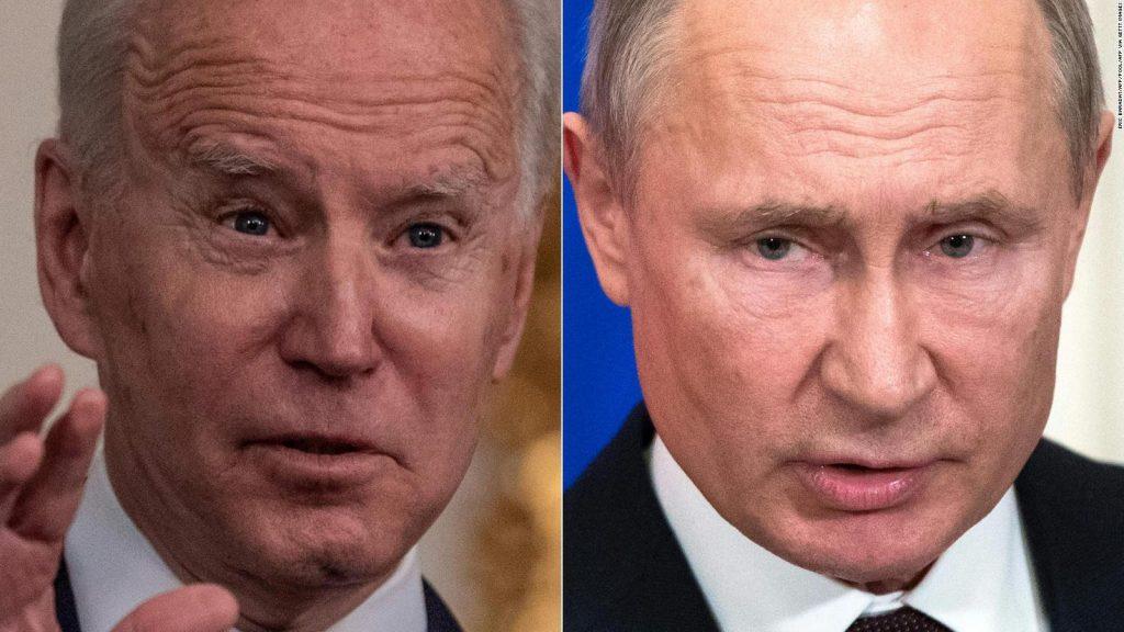 Biden prepares to counter Putin's tactics