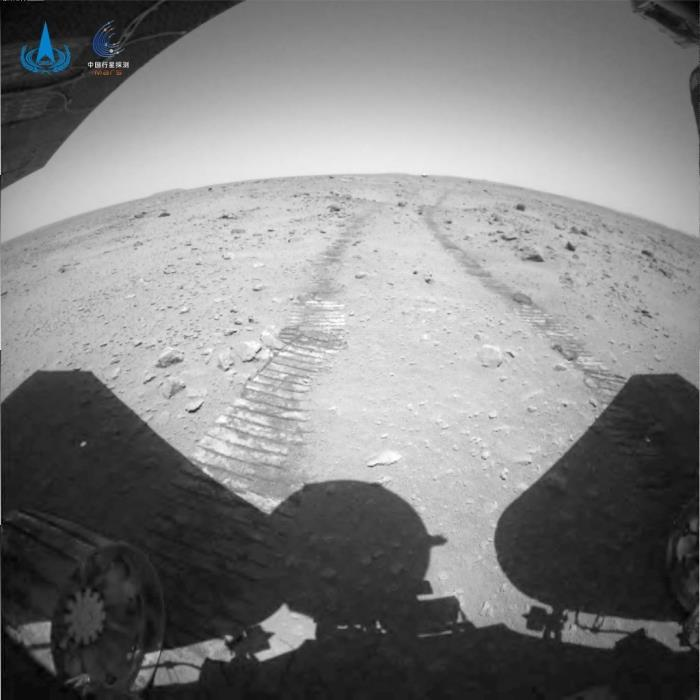 Chinese robot on Mars, the protagonist of cool new photos