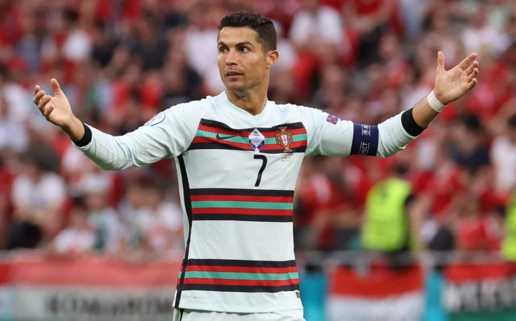 Cristiano Ronaldo.  Unbelievable, they asked the captain to count!