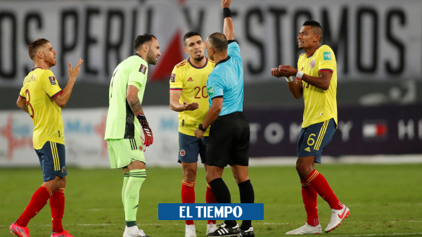 Daniel Muñoz, fastest expulsion for the first time with the national team - international football - sports