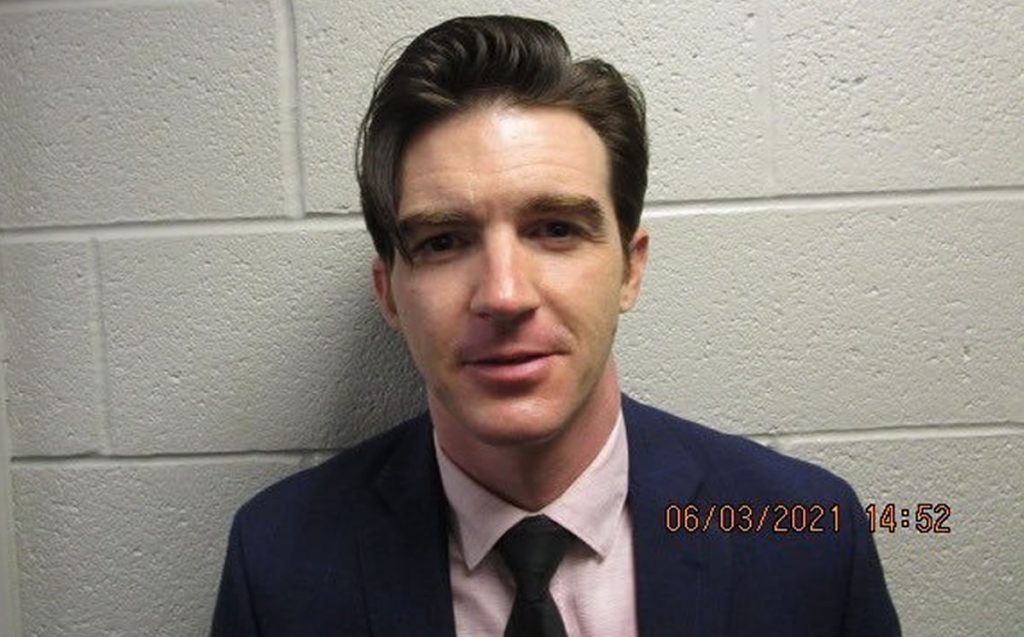 Drake Bell has been arrested for sending harmful materials to the palace