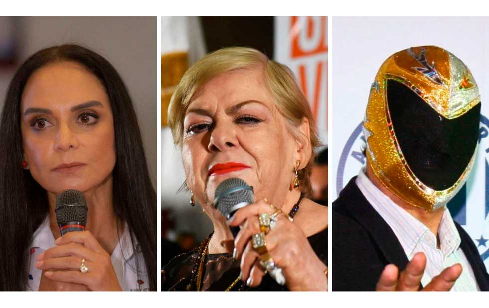 From Alfredo Adams to Paquita La Del Barrio: What Celebrities Lost in the 2021 Election
