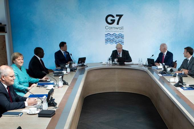 Líderes del G7 se preparan frente a las futuras pandemias
