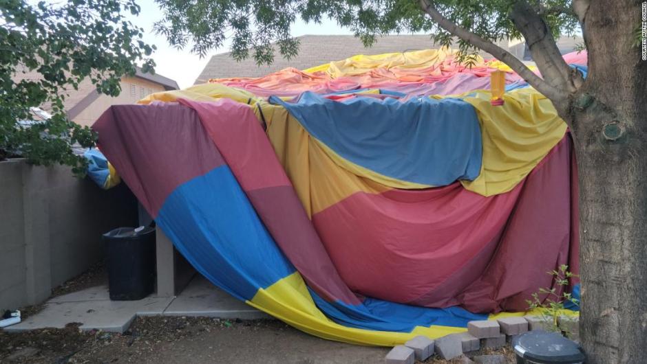 Hot air balloon crash in New Mexico