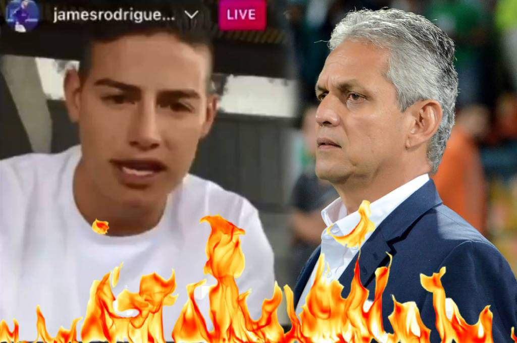 James Rodriguez explodes in front of Reinaldo Rueda: 'Don't respect me, don't let them come with assholes' - Ten