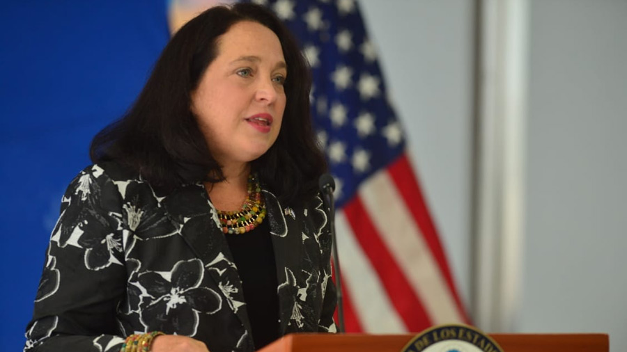 Jane Manis will meet Bukele in the midst of the split from the Organization of American States to fight corruption
