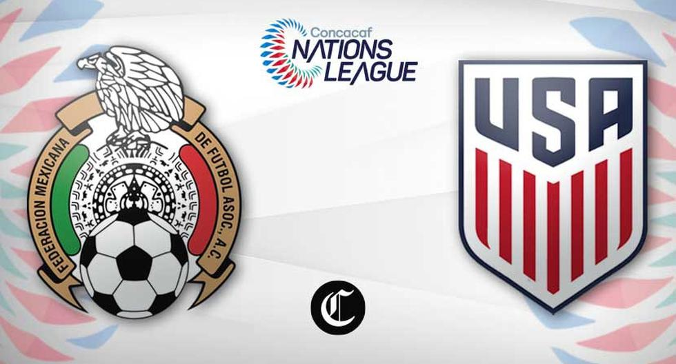 Mexico vs.  US Live: TV channels and schedules for the 2021 CONCACAF Nations League Final |  Today's matches |  live football |  Mexico |  United States |  mx us |  NCZD |  Total Sports