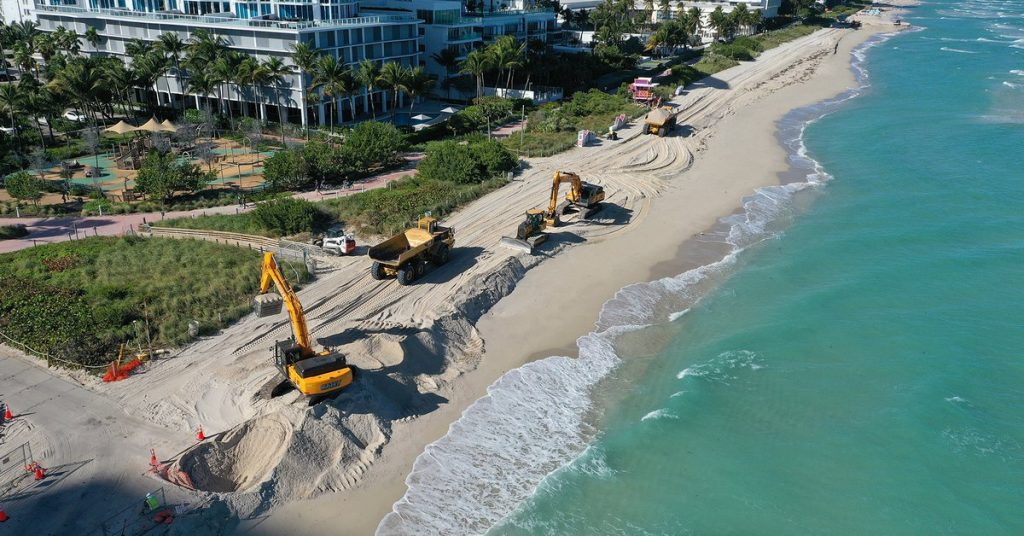 Miami faces tough challenges in tackling climate change: Will a check dam prevent the city from going underwater?