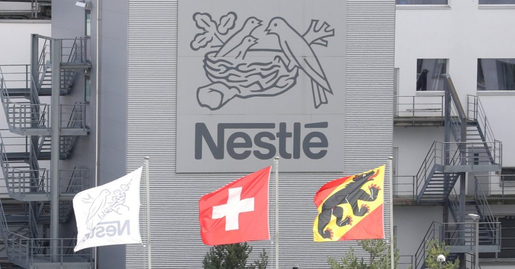 Nestlé has realized that more than 60% of its products are unhealthy