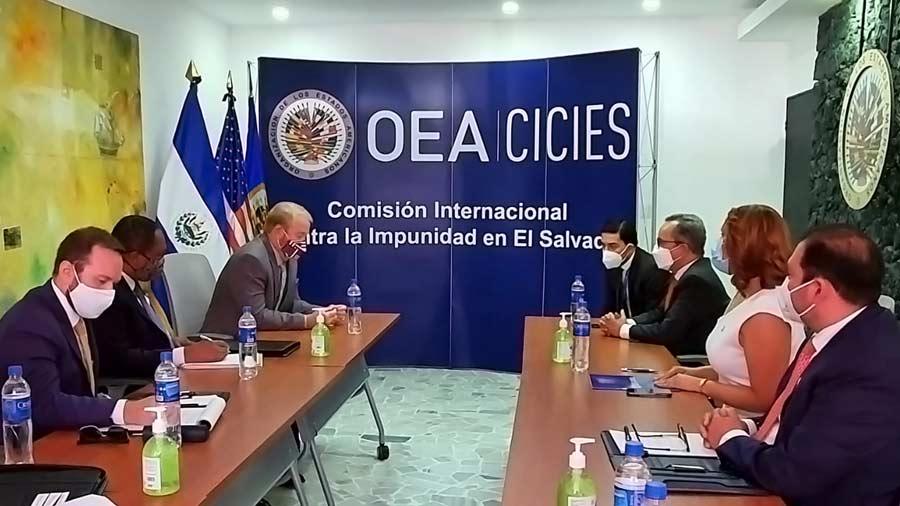OAS denies having a deal with Moosend, regrets closure of CICIES in El Salvador