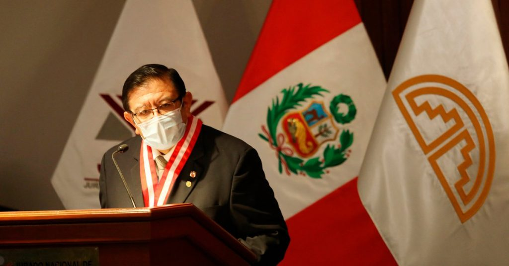 Polling in Peru: Electoral jury chief fails to give deadlines for resolution of bids due to alleged irregularities