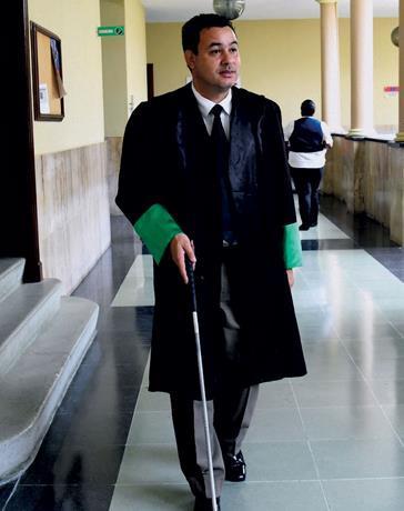 Robert Quiroz, el no vidente que formará parte de la nueva Defensoría del Pueblo
