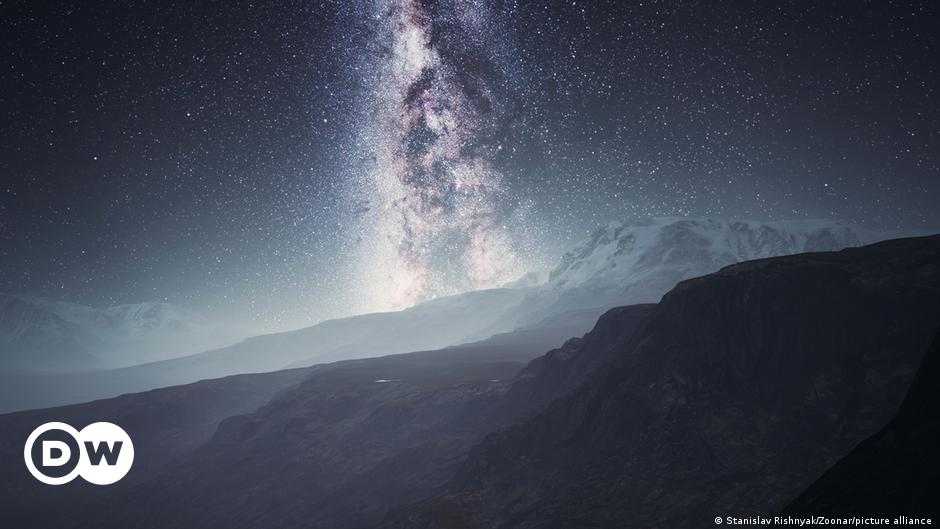 Study Finds Dark Matter Slows Milky Way's Rotation Science & Ecology    DW