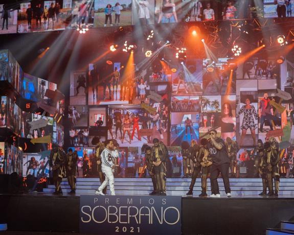 Audiencia televisiva de Premios Soberano 2021 baja a 10.45%