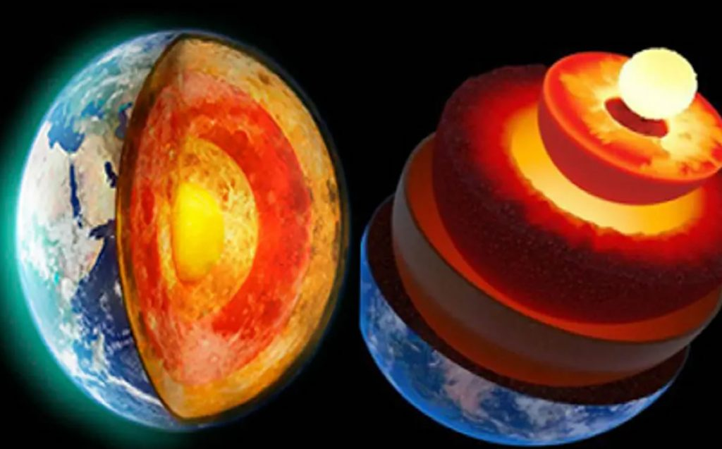 They discover a hidden layer in the heart of the Earth
