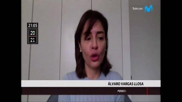 Álvaro Vargas Llosa referred to Francisco Sagaste and Violetta Bermúdez