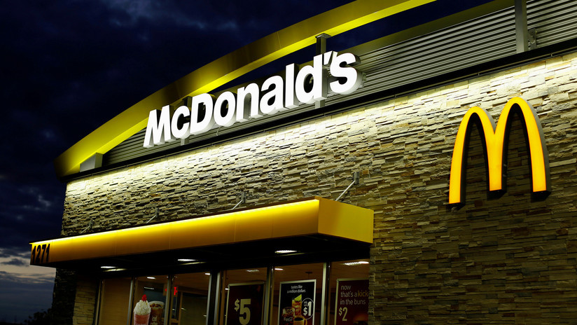 In the middle of a police chase, she stops to order food at a McDonald's and gets arrested