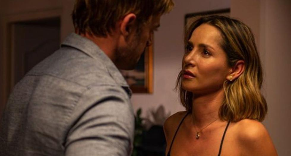 Carmen Villalobos: Farewell to Lucia Sanclemente from coffee with a woman's scent |  TV series |  Telemundo nnda nnlt |  from the side