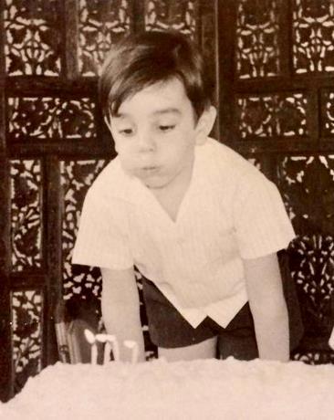 Abinader hace pausa durante cumpleaños