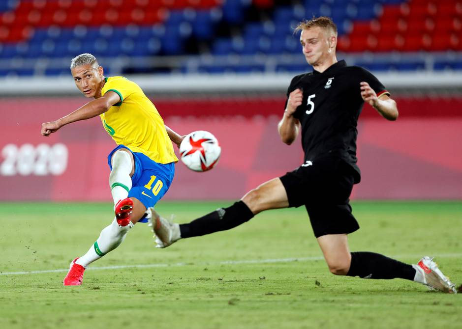 Brazil and Mexico score, Argentina lose, Spain draw at start of men's soccer in Tokyo 2020 |  football |  Sports