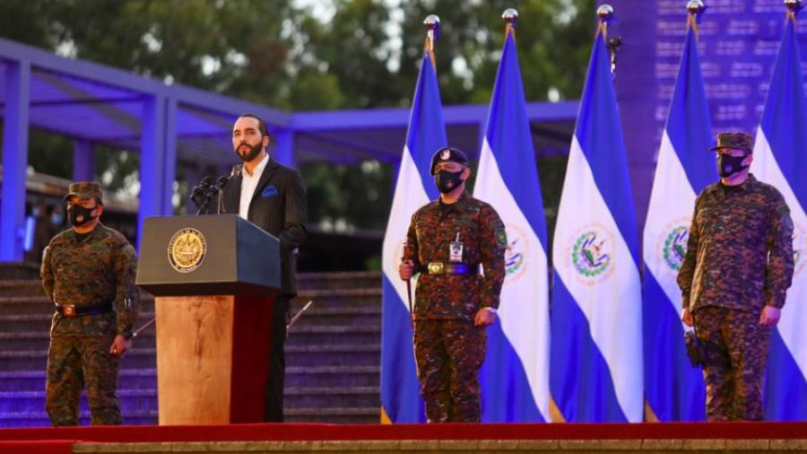 Bukele announced that within five years the armed forces will increase from 20,000 to 40,000 soldiers