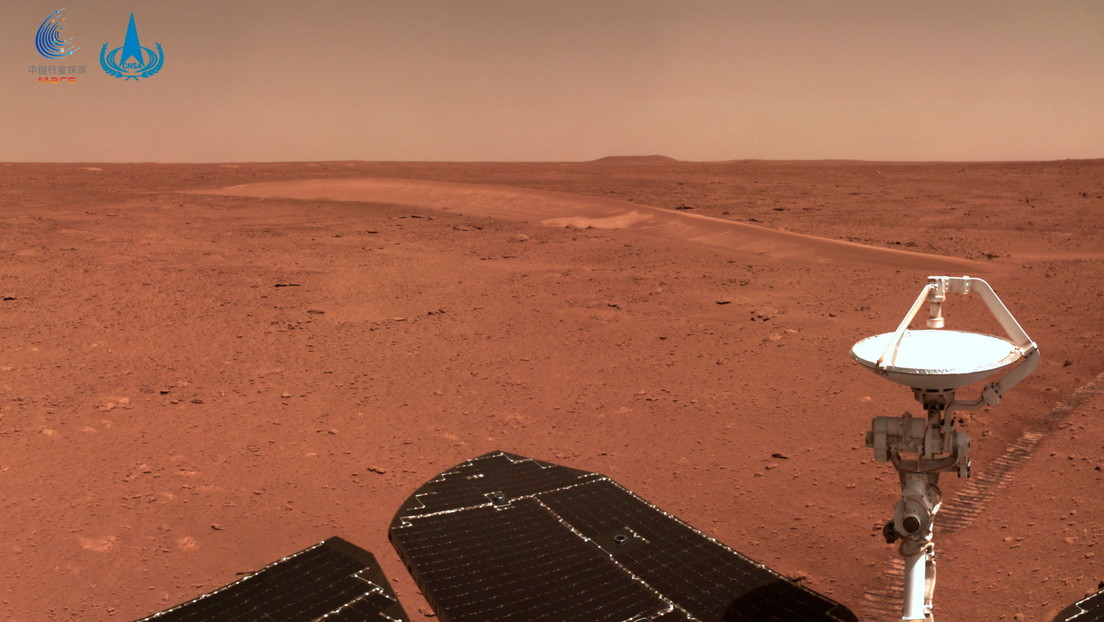 China's Zhurong rover encounters complications on Earth on Mars