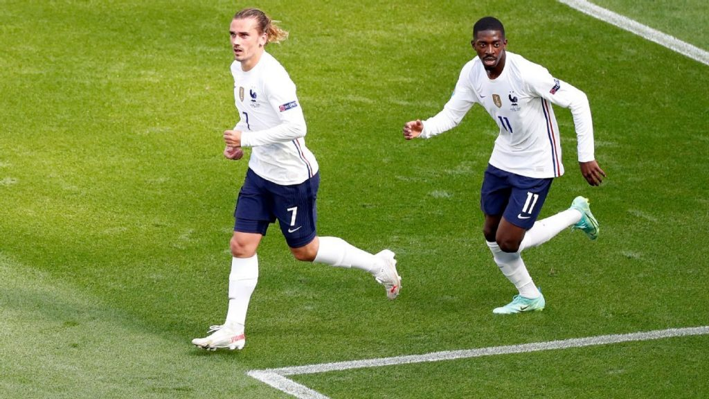 Dembele and Griezmann apologize for mocking Asian staff at a hotel