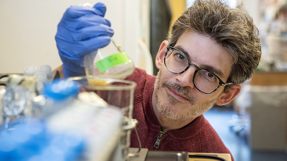 Expert in genetic engineering key |  Rosario at the National Academy of Sciences in the United States