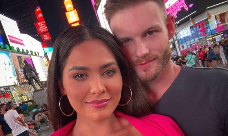 Her boyfriend, Ryan Antonio, has already met the Miss Universe family