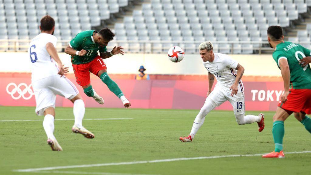 Mexico U23 vs.  France U23 - Match Report - July 22, 2021